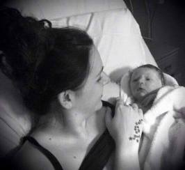 Mummy and Baby Ethan