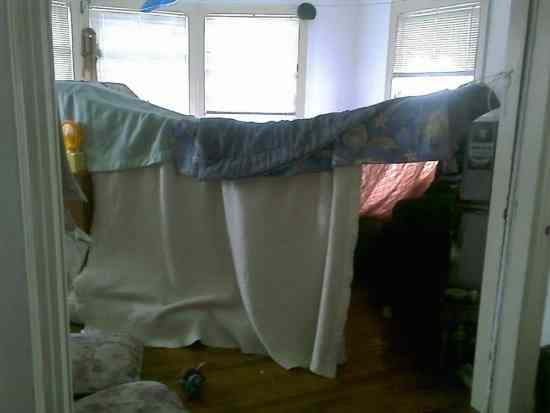 build a fort