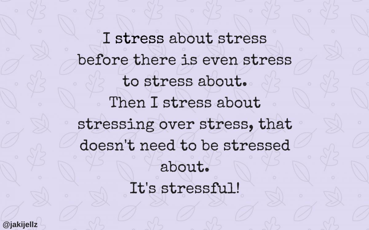 Stressed – Wednesday Wisdom 15