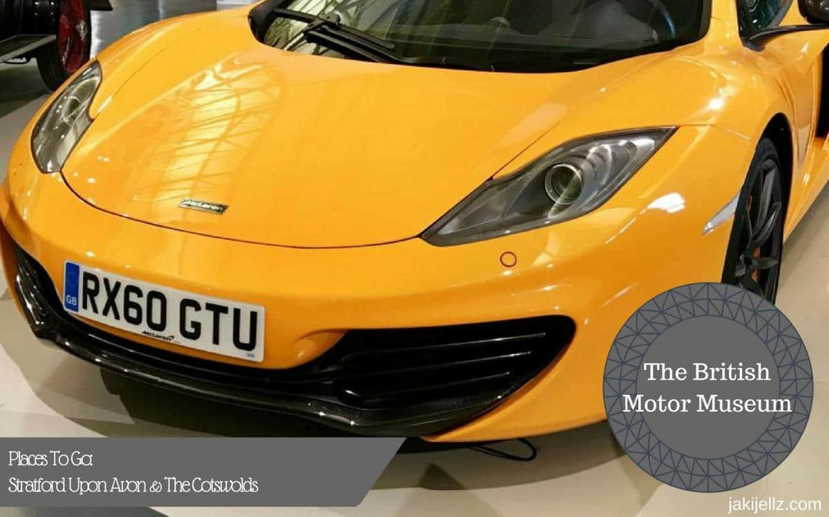 Places To Go: The British Motor Museum