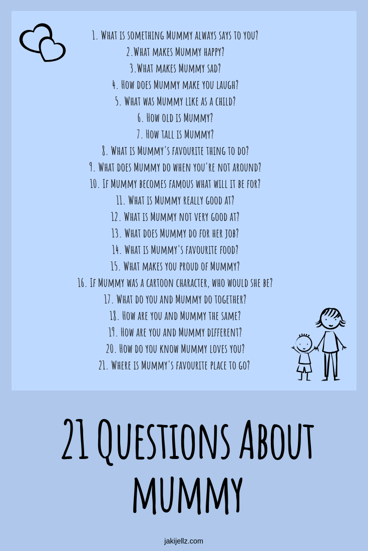 21 Questions About Mummy