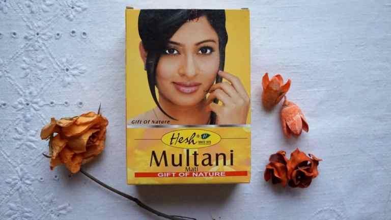 Indyjskie spa da twarzy, czyli żółta glinka Multani Mati