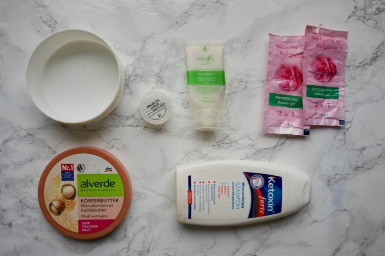 denko kosmetyczne zużycia Alverde masło