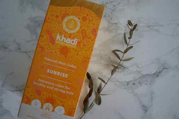 Henna Khadi Słoneczny Blond | recenzja i efekty