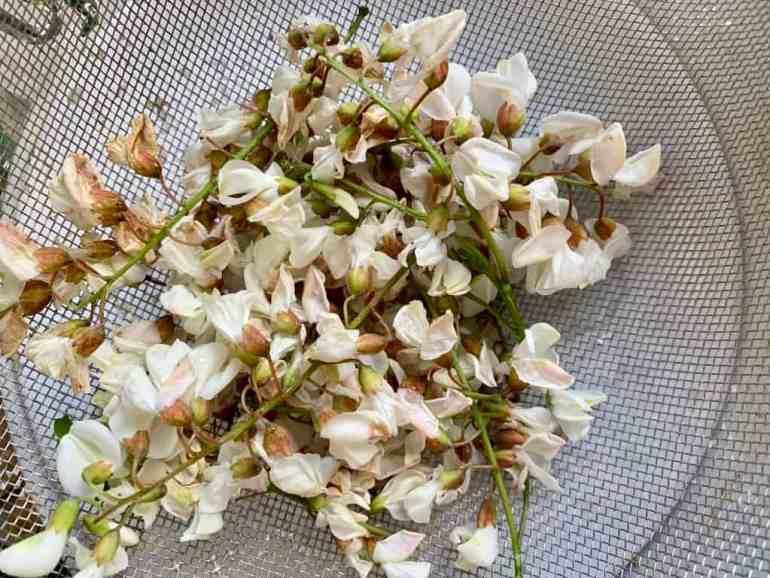 Smażone kwiaty