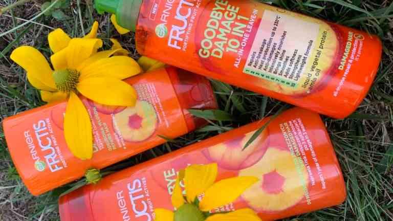 Garnier Fructis, Goodbye Damage | nowości do włosów