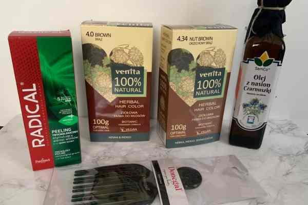Radical, Venita, olej z Czarnuszki | Nowości do włosów