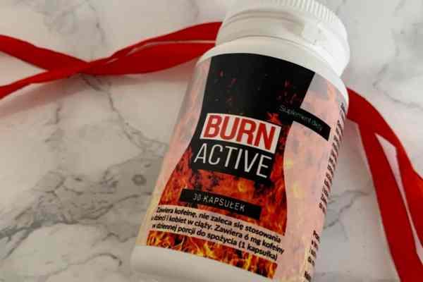 Burn Active | rozpoczęcie kuracji na odchudzanie