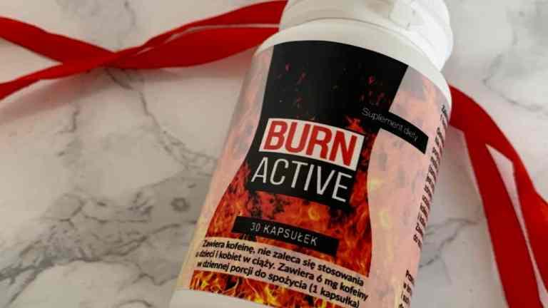 BURN ACTIVE -efekty po miesiącu i moja opinia