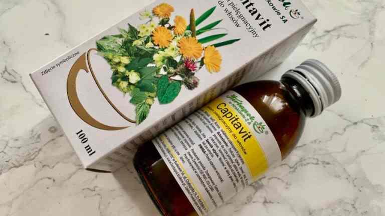 Capitavit, ziołowa wcierka na szybki porost włosów