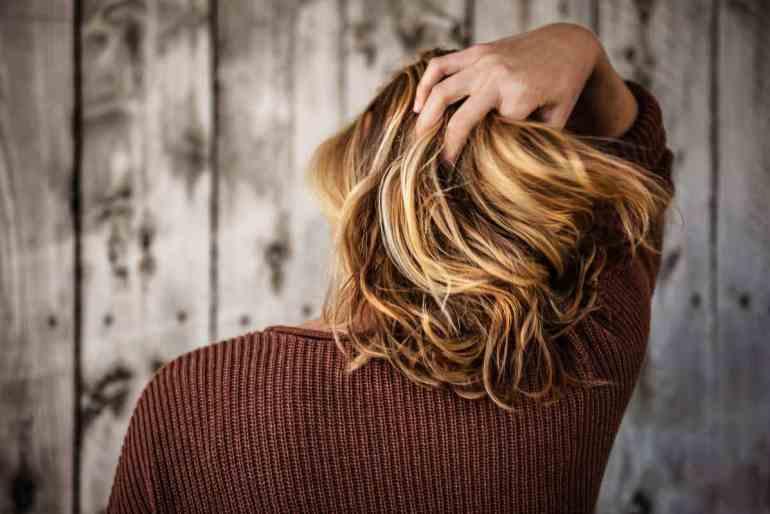 Bleeding on the hair |  How to lighten your hair naturally?