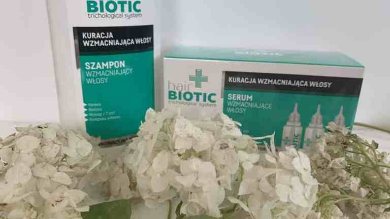 Hair Biotic, ampułki i szampon na wypadanie włosów