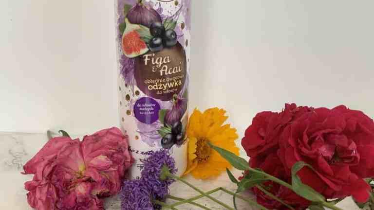 Ovoc, Figa i acai, Odżywka do włosów suchych