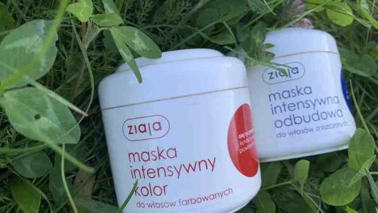 Ziaja, Maska Do Włosów Intensywny Kolor, olej rycynowy