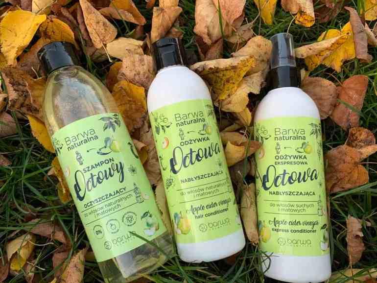 Barwa octowa: odżywka, spray i szampon