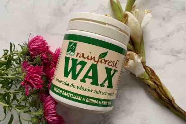 Wax Rainforest, maska do włosów zniszczonych
