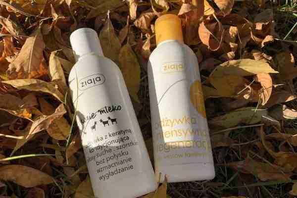 Odżywki Ziaja: kozie mleko i regeneracja miód