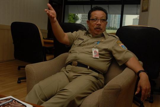 Kepala Dinas Catatan Sipil dan Kependudukan DKI Jakarta, Edison Sianturi (alif)