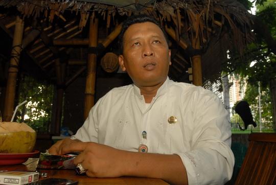 Herry Purnama Camat Kemayoran (alif)