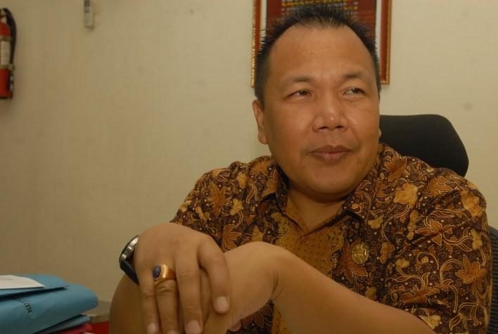 Kepala Suku Dinas Catatan Sipil Jakarta Utara Erik Polim Sinurat. (alif)