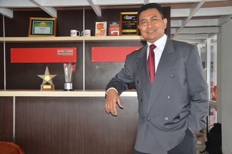 CEO PT Global Insight Utama Adang Wijaya. (istimewa)