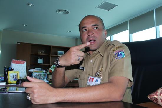 Kepala Dinas Tata Air Teguh Hendrawan