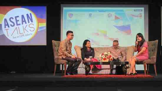 Suasana acara talkshow tentang autisme di LSPR Jakarta. (istimewa)