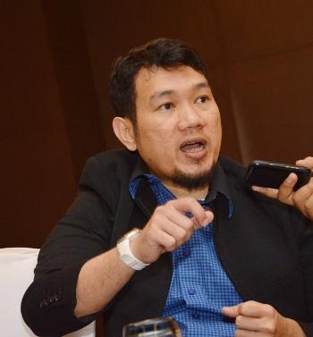 Ketua Umum Asosiasi Pendidikan Menengah Farmasi Indonesia (APMFI) Leonov Rianto. (Sigit Herjanto)