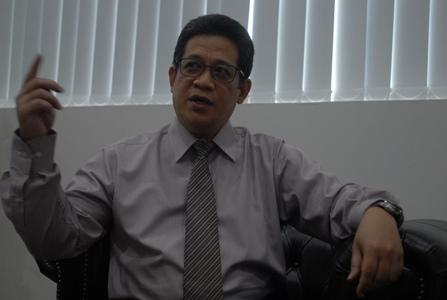Kepala Kantor Perwakilan BI Jakarta Doni P Joewono. (Alif)
