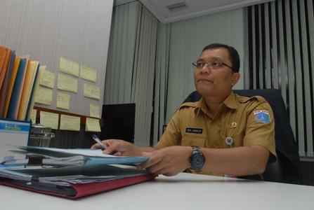Kepala Dinas Penanaman Modal dan PTSP DKI Jakarta Edy Junaedi. (alif)
