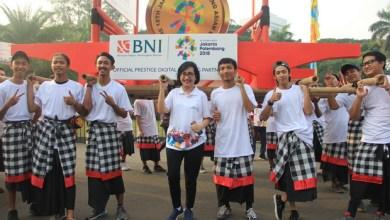 BNI meriahkan Parade Asian Games