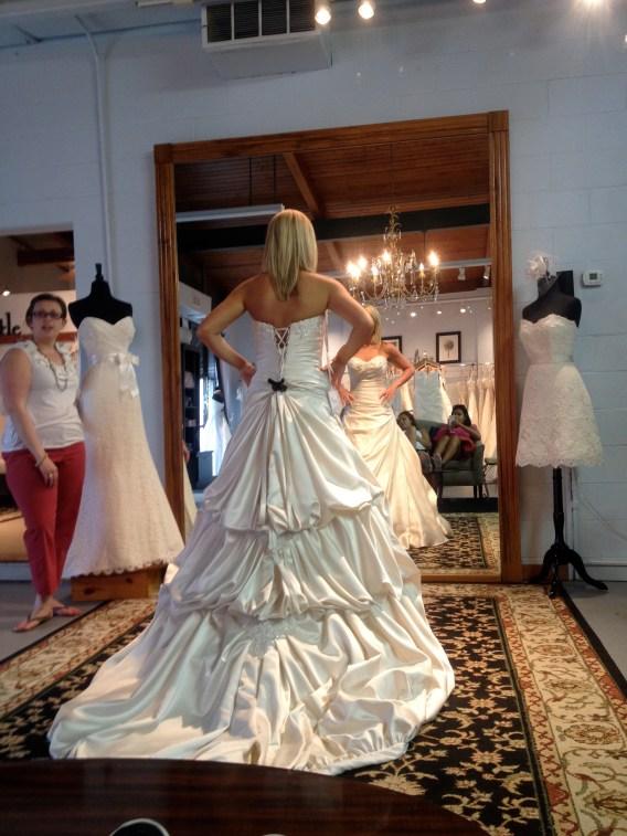 match my wedding dress