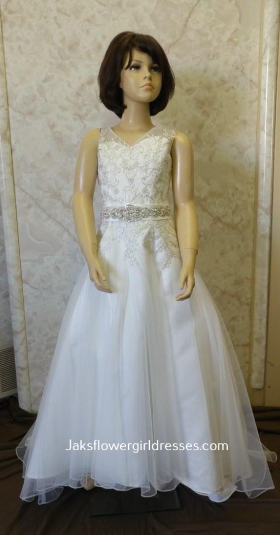 miniature bride dresses with bridal sash