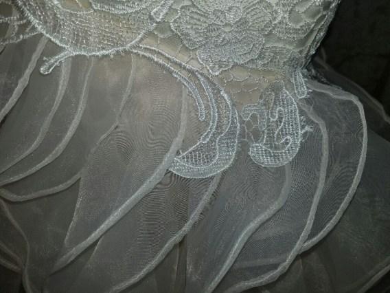 lace miniature wedding dress