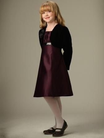 girls dress with jacket