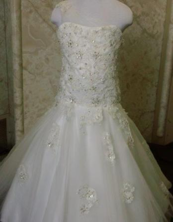 Match my Maggie Sottero wedding dress for flower girl