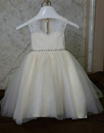 baby girls wedding dress