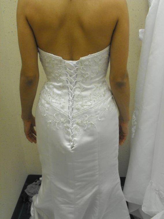 Ruched wedding dress. Cheap wedding dress online