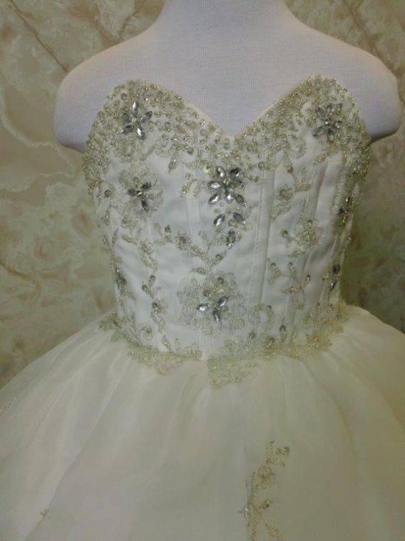 sweetheart flower girl dress