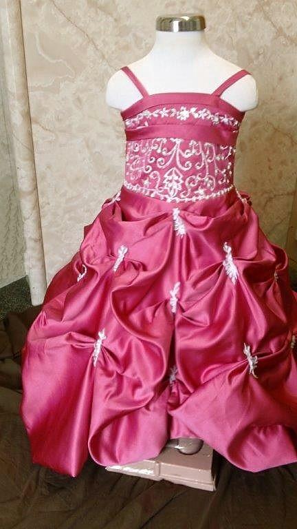 watermelon colorful wedding dress
