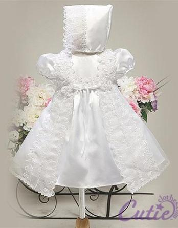 Small Lace Christening Gown