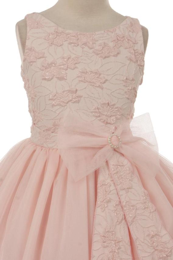 girls pink easter dress