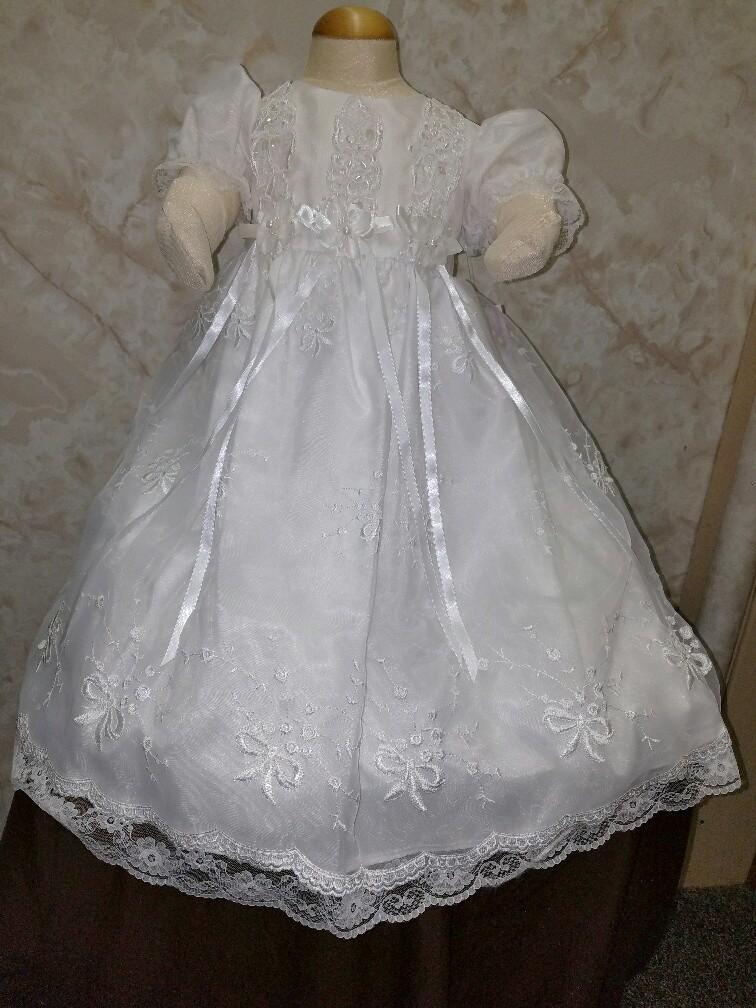 3947543d23fe Girl christening dresses on sale at Jaks Bridal. Shop today.
