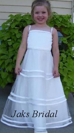 ivory flower girl dress sale