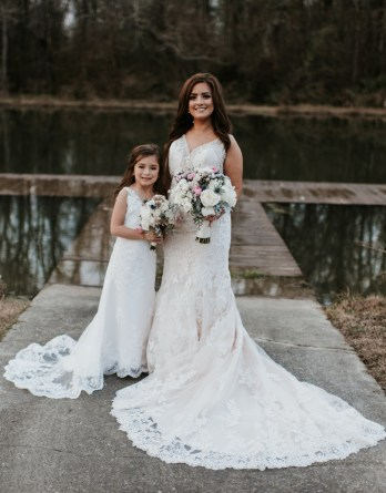Flower Girl Dresses to match your bridal gown.