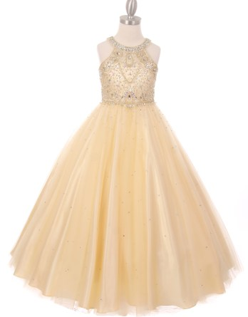 rhinestone dresses