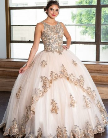 holiday ball gown