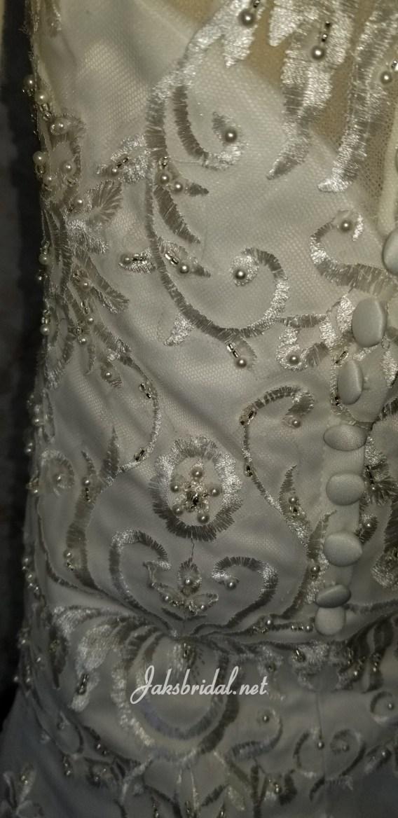 jewel flower girl dress