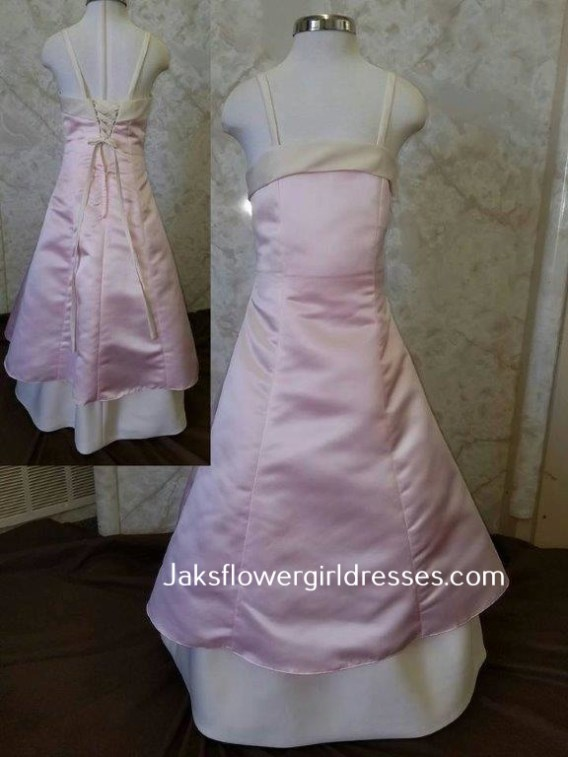 sweet pea pink/champagne size 3