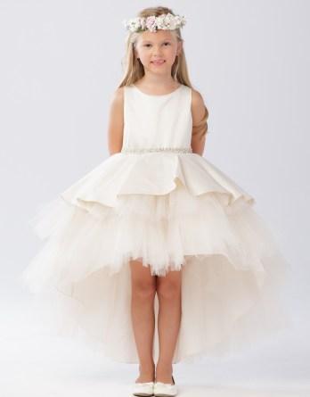 girls high low dresses